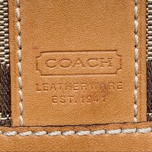 Coach Bags - Coach Signature Purse With Matching Mini Wallet